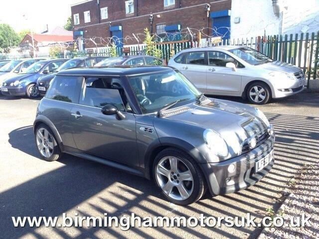 2002 (02 Reg) MINI Cooper S 1.6I 16V COOPER S 3DR Hatchback GREY + HUGE SPEC