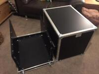 Flight case mixer rack flightcase
