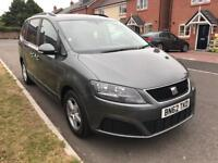 SEAT ALHAMBRA 2012 AUTOMATIC DRIVES PERFECT