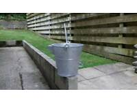 Galvanised buckets