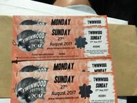 4 Twinwood Tickets