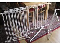 Baby Square or Rectangle Metal Playpen measuring 2' X 4'