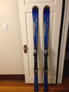 Atomic C-9 Skis - Great Condition