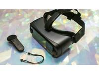 Samsung Gear virtual reality headset with controller