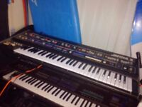 Roland Jupiter 6 for sale. Huge sounds. Classic 80s synth. In full working order.