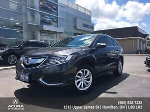 2016 Acura RDX Navigation and TECH package!!