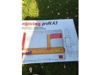 Rotring profil A3 drawing board