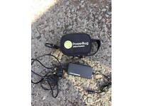 Powerbug lithium golf trolley battery like new 1kg