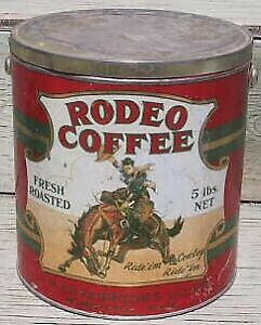 WANTED - Rodeo Coffee Tin