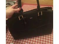 Paul Costello Black Tote Bag
