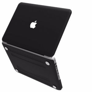 "*NEW* Black Soft-Touch Plastic Cover for Macbook Pro 13"" (A1278)"