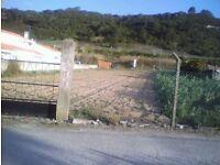 PORTUGAL SALE FARM/LAND TO BUILD HOUSE SHOP ETC ON MAIN RD NEAR OBIDOS CATLE AP 45MILES FR LESBOA