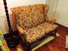 Parker Knoll 2 seats Sofa origional material in good condition.