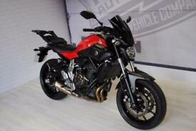 2015 - YAMAHA MT-07 689CC, IMMACULATE CONDITION, £5,000 OR FLEXIBLE FINANCE