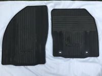 Genuine Ford contoured rubber mats (front only) for Ford Kuga.