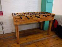 Table football / foosball table