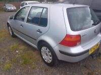 vw golf 1.9tdi , excellent drive recent service @ 21/01.2017, 7 stamps, ANY OLD CAR PX WELCOME