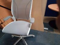 Humanscale world task chair top spec