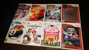 CHOOSE YOUR PRICE FOR THE WII GAMES