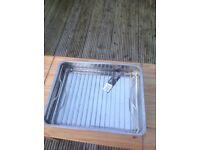 One roasting tin 40 cm X 32 cm never used