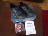 Free Black Boys Clarks Shoes in 12G