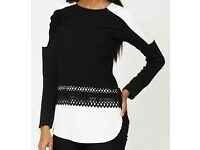 Ladies Monochrome Top