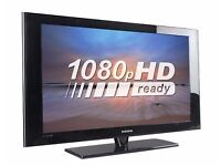 """Samsung 37"""" HD Ready LCD TV With Built-in Freeview & 3 x HDMI not 32, 40, 42 Free Local Delivery"""