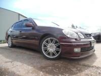 LEXUS GS 300 V300 ARISTO LPG CONVERTED 2JZ ENGINE