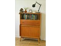 vintage sideboard bureau desk teak Beautility mid century danish design