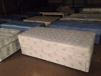 Divan Single Bed Bases & Mattress