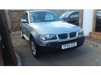 2004 BMW X3 2.5i auto Sport 4x4 tow bar fitted luxury estate fsh leather