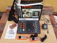 VINTAGE 1981 BINATONE TV MASTER MK6 GAMES CONSOLE COMPLETE BOXED SET