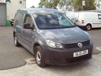 Volkswagen Caddy 1.6TDI 102ps Startline DIESEL MANUAL GREY (2013)