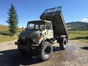 Unimog 416 w/ 3 way dump box for sale! $32,900.00