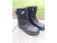 PATROL, COMBAT boots size 9