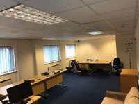 Office Space to Let 510 SqFt including Electric, Internet and Cleaning