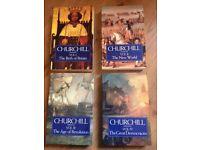 WINSTON CHURCHILL - Full set 1991 Edition - A History of the English Speaking Peoples