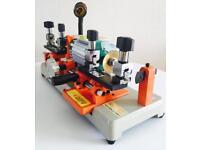 New - Dual Cylinder & Mortice Key Cutting Machine