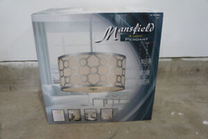 Mansfield 3 Pendant Light Adjustable - New in Box