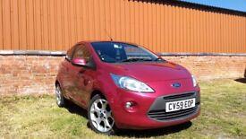 2009 Ford KA Zetec, 1242cc, petrol, MOT to 10/07/2018, genuine low mileage, Tax band c £30