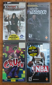 Playstation Portable games (PSP)