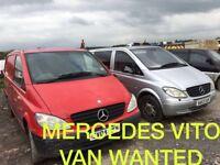 Mercedes Vito Van Wanted