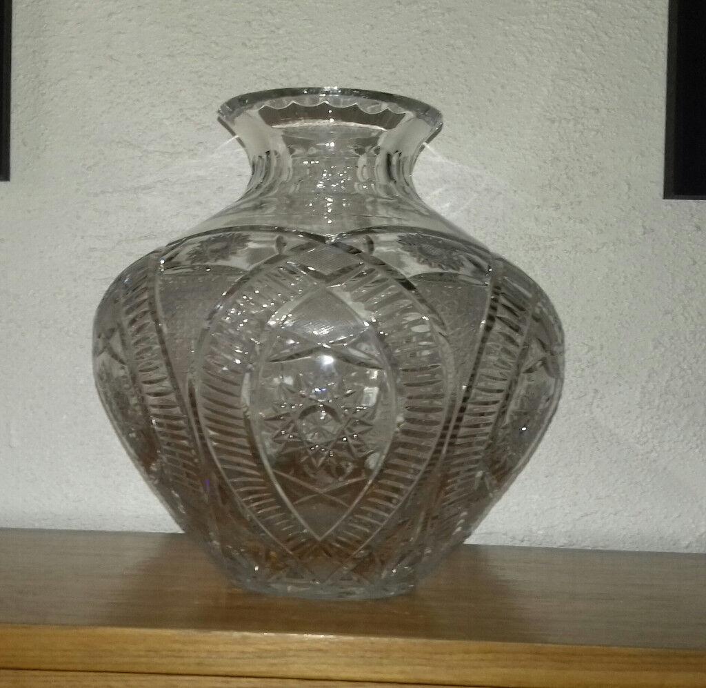 Polish lead crystal vase in kilkeel county down gumtree polish lead crystal vase reviewsmspy