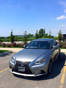 Lease Takeover 2015 Lexus IS250 FSport SERIESII **Low Mileage**