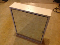 Bathroom mirror cabinet. Hanging wall cabinet. Excellent condition. £25 only.