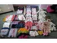 Massive Bundle of 3-6months Girls Clothes