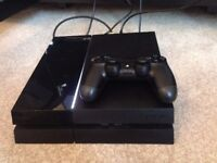 Playstation 4 500Gb with camera & headphones (+FIFA 16, Madden 16, Project Cars, The Last of Us)