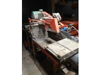 Clipper major 3 phase brick and slab saw