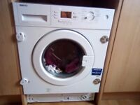 Integrated washing machine 7kg can deliver