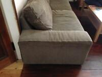 Large sofa bed couch pull out double daybed